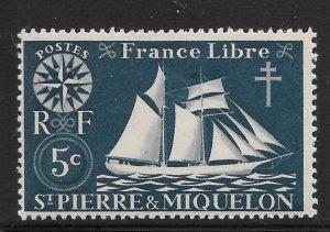 Saint Pierre and Miquelon Mint Never Hinged [4130]