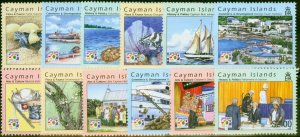 Cayman Islands 2003 500th Anniv Discovery of Cayman Set of 12 SG1019-1030 Very F