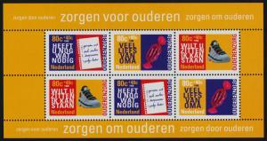 Netherlands B707a MNH Senior Citizens, Shoe, Candy