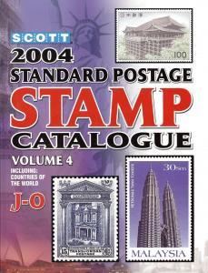 Scott 2004 Standard Postage Stamp Catalog: Volume 4, J-O,...