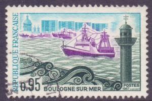 France SG1759 - YT 1503, 1966 Tourism 95c used