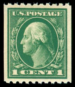 MOMEN: US STAMPS #441 MINT OG NH XF-SUP