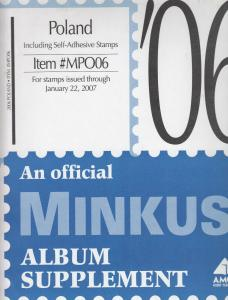 Minkus Album Supplement Poland Isuues Through Jan 2007