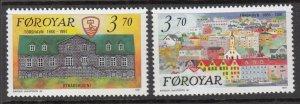 Faroe Islands 222-223 MNH VF