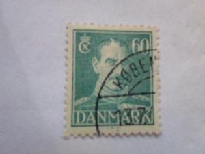 DENMARK STAMP. USED. hr # 39