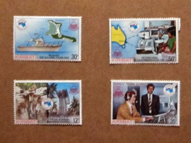 Kiribati - 444-47, MNH Set. Ausipex '84. SCV - $1.10