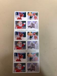 Forever Stamps. Booklet Of 20. Rudolph The Red Nosed Reindeer. Self Stick