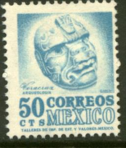 MEXICO 949, 50cents 1950 Definitive 3rd Printing wmk 350. MINT, NH. F-VF.