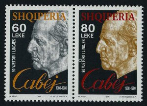 Albania 2568a MNH Egerme Cabej, Etymologist