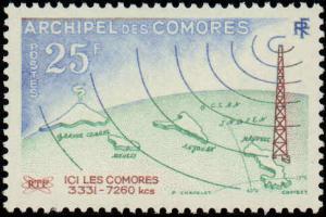 Comoro Islands #46-47, Complete Set(2), Never Hinged