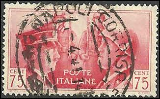Italy - 417 - Used - SCV-6.00