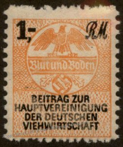 3rd Reich Germany Viehwirtschaft Cattle Breeders 1RM Revenue 96201