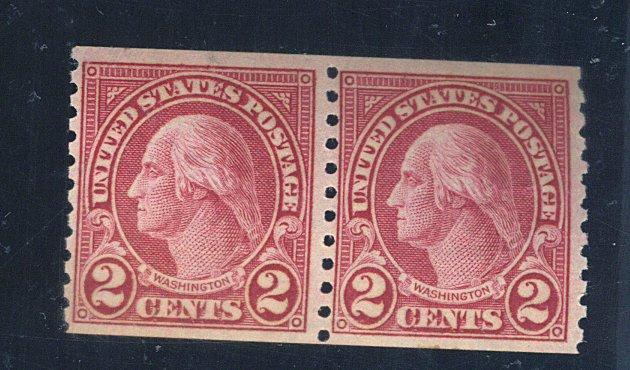 599a MINT Pair F-VF OG NH Cat$425