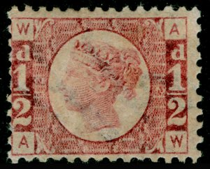 SG48, ½d rose-red plate 12, M MINT. Cat £120. AW