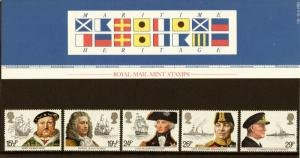 STAMP STATION PERTH Great Britain # Maritime Heritage Presentation Pack 136 MNH