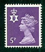 Northern Ireland - #NIMH5 Machin Queen Elizabeth II - MNH