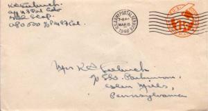 United States, Postal Stationery, U.S. A.P.O.'s, Airmail, Japan