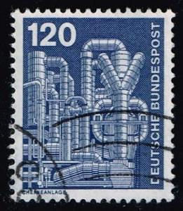 Germany #1181 Chemical Plant; used (0.30)