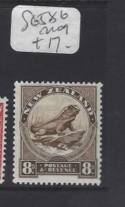 NEW ZEALAND (PP2111B)    LIZZARD   SG 586   MOG