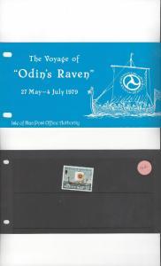 Isle of Man 162 Odin's Raven 1979 MNH Presentation Pack