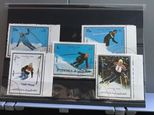 Fujeira  Olympic 1976  Olympic Skiing   stamps R26126