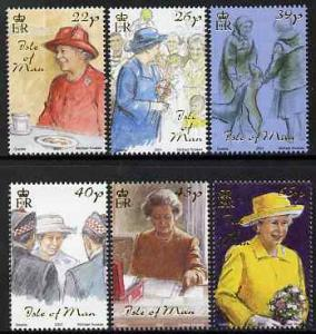 Isle of Man 2001 Golden Jubilee - 1st Issue \'The Daily L...