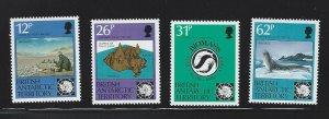 British Antarctic Territory mnh S.C.#  180 - 183