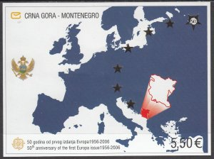 Montenegro, SW115, MNH, 2006, 50th Anniv. of Europa