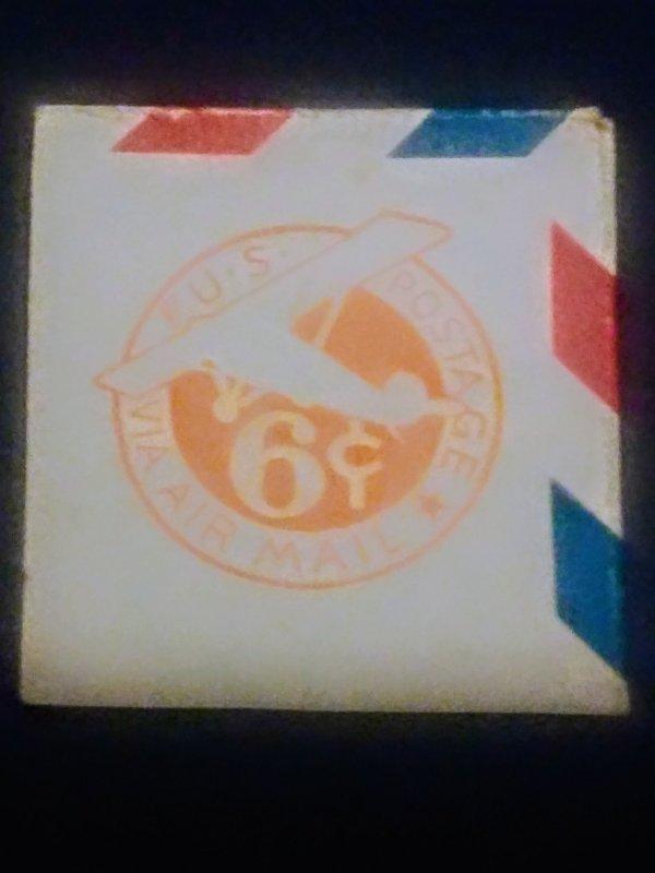 U.S. Scott # UC 4 1942 cut Square MNH XF Cat $200
