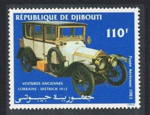 Djibouti Lorraine-Dietrich 1912 Early Motor Car 1983 MNH SG#888