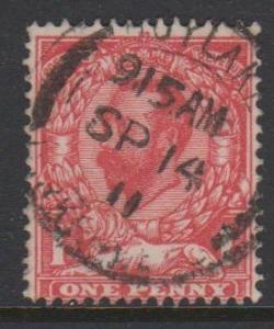 Great Britain KGV Sc#152 Used