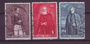 J21302 Jlstamps 1930 belgium set #218-20 used, kings