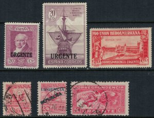 Spain #E3,7-10,4  CV $11.85  Special Delivery collection
