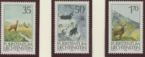 Liechtenstein 849-51 mint NH  (2745 251.j)