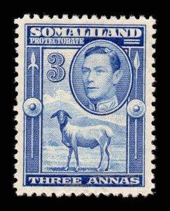 Somaliland 1938 KGVI  3a SG 96 mint