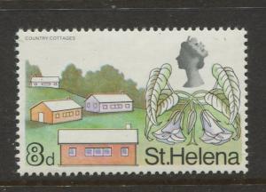 St Helena #216 MNH 1968 Single 8d Stamp