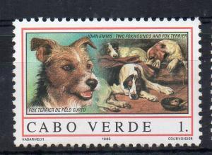 CAPE VERDE - DOGS - FOX TERRIER - 1995 - 1. -