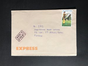 Indonesia #780//B242 Cover to Finland (1970-1999) Cover #2074