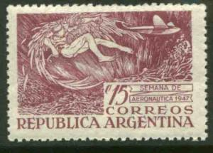 Argentina 566, Aviation Week, 1947. Unused.