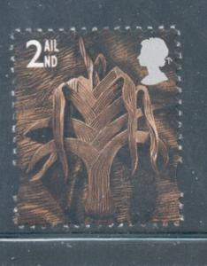 Great Britain Wales Sc 13 1999 2nd Leek stamp mint NH