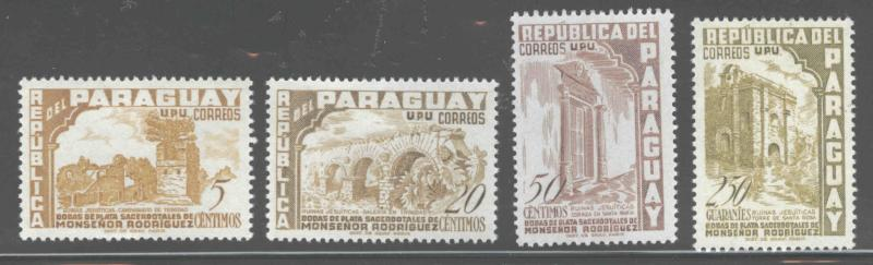 Paraguay Scott 271 MH* stamp