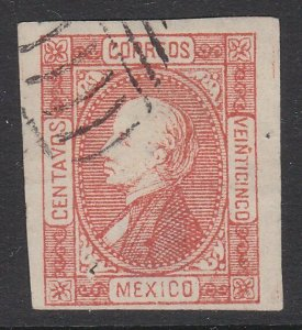MEXICO  An old forgery of a classic stamp ..................................D703