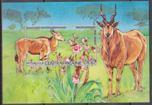 1986 Central African 1222/B373b Fauna and flora 30,00 €