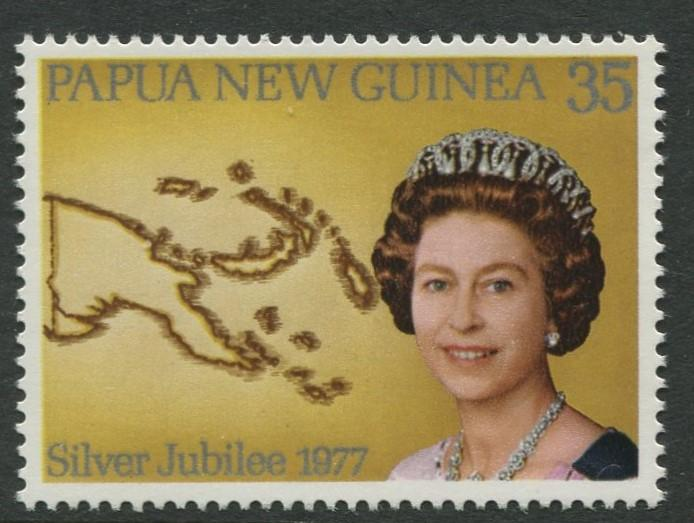 Papua New Guinea- Scott 464 - General Issue -1977 - MNH - Single 35t Stamp