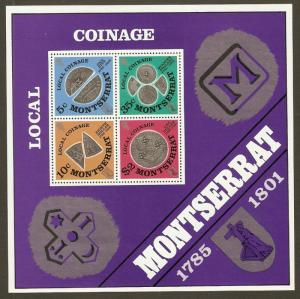 Montserrat #326a NH Old Local Coins SS