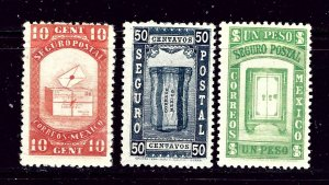 Mexico G1-3 MH 1935 set