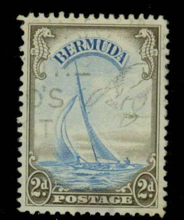 Bermuda #109 Used F-VF Cat$16