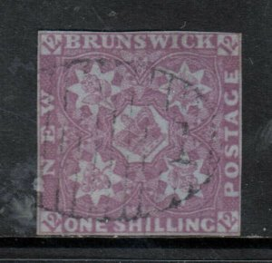 New Brunswick #4 Used Fine **With Certificate**
