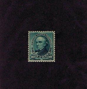 SC# 226 UNUSED ORIG GUM, MNH, 10 CENT WEBSTER, 1890, 2019 PSAG CERT GRADED VF