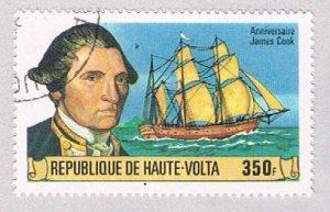 Burkina Faso 477 Used Captain Cook 1978 (BP4391)
